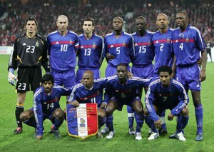 French Soccer Players